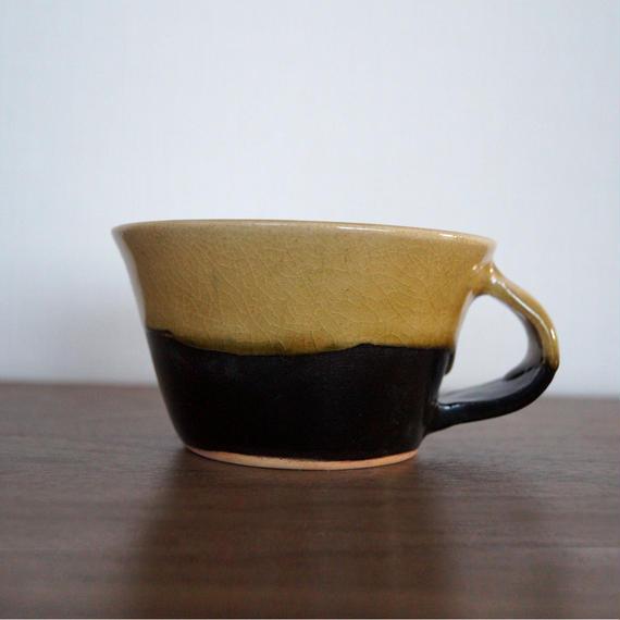 2色のコーヒーカップ