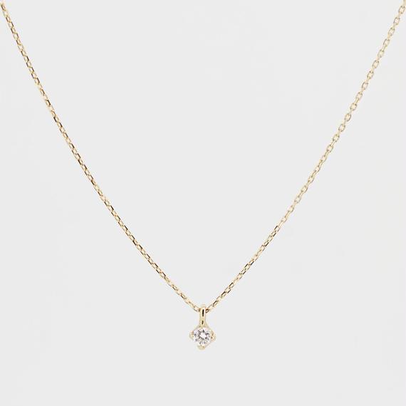 sowi:ソーイ 《K10YG  ダイヤモンド ネックレス》309P0139-TY
