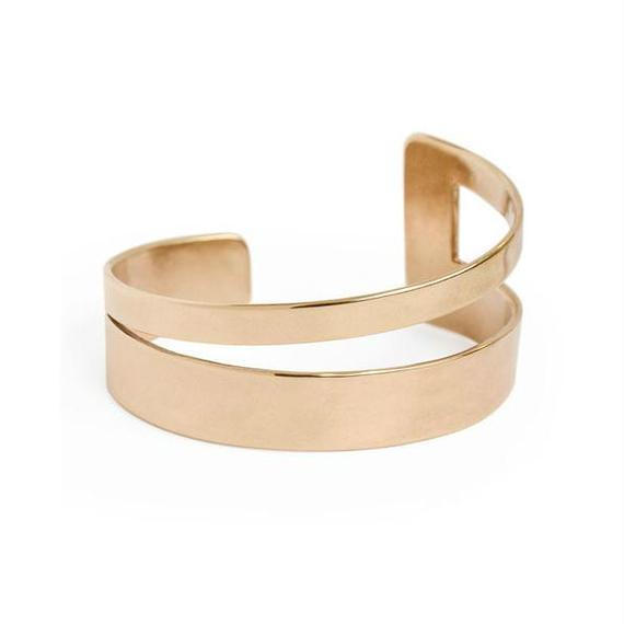 MINOUX:ミノゥ《CONFLUENCE BRACELEET Bronze》ブレスレット銅