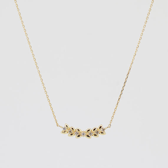 sowi:ソーイ 《K18YG ダイヤモンド ネックレス》302N0032-TY