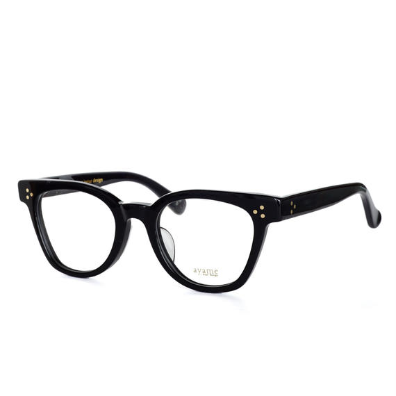 ayame i wear design:アヤメ 《NEWOLDⅡ col.BK》眼鏡 フレーム