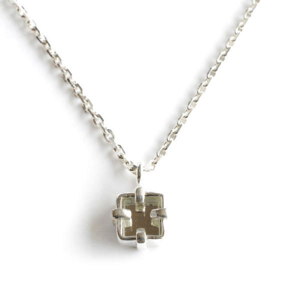 SERGE THORAVAL:セルジュトラヴァル《Miroir Necklace:023 P6》鏡ネックレス SILVER