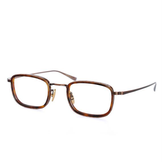 OG×OLIVER GOLDSMITH:オージーバイオリバーゴールドスミス《UMPIRE 48-2 Col.038-4》眼鏡 フレーム