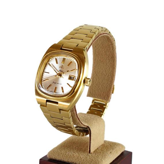 fleur:フル―ル 《F007 - GOLD》腕時計 メタルバンド