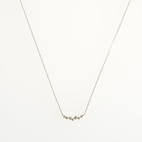 sowi:ソーイ 《K18YG  ダイヤモンド ネックレス》302N0030