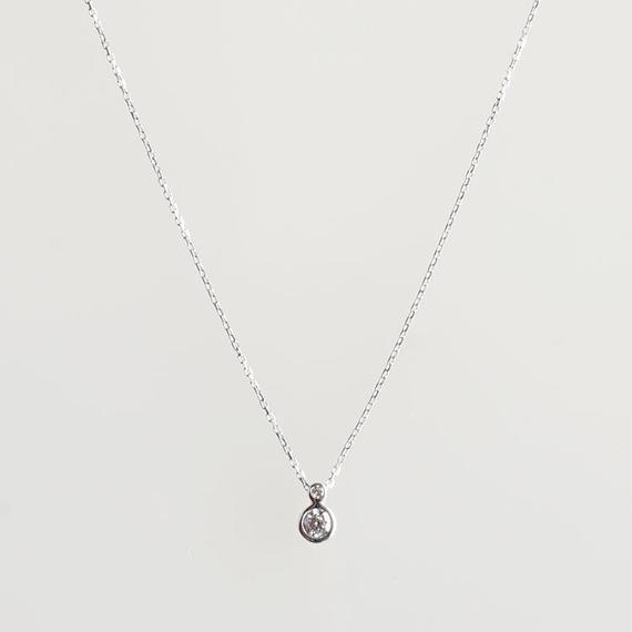 sowi:ソーイ 《K10WG  ダイヤモンド ネックレス》307N0003-TY
