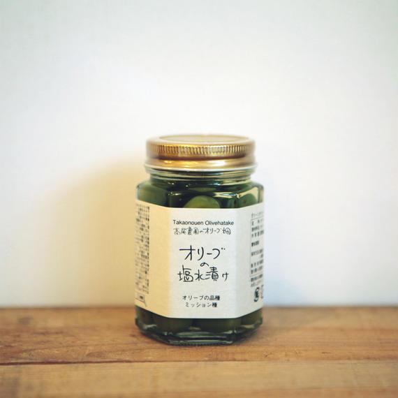 高尾農園 新漬けオリーブ塩水漬け(小豆島)