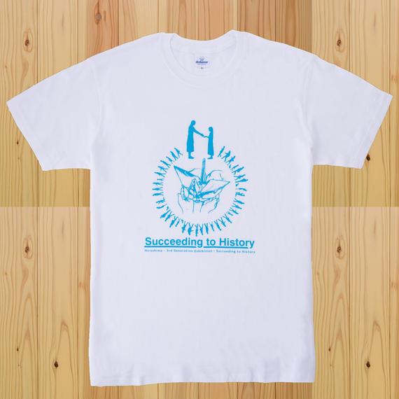 継ぐ展Tシャツ  -  ホワイト -