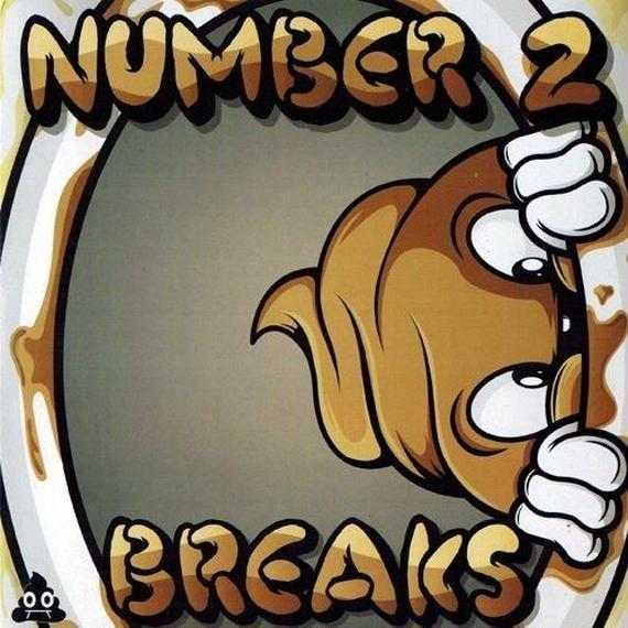 Number 2 Breaks (Skratchpoop) (7' Vinyl)