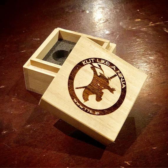 Kutry Cypress Box (カットリ君 檜箱)