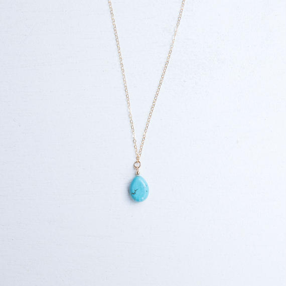 turquoiseblueco. ターコイズネックレス