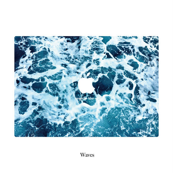 TBC Abstract Collection Macbook Cover -Waves-