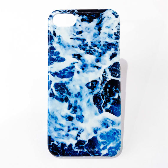 Abstract Collection iphone Hard Cover -Waves-