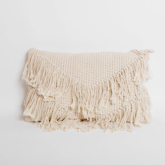 Macrame Cushion Cover 60×30