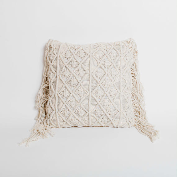 Macrame Cushion Cover 45×45