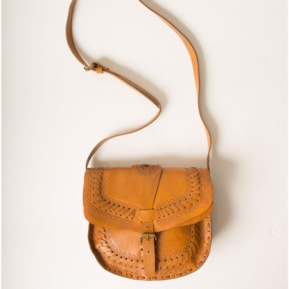 The Gypsea Leather Shoulder Bag
