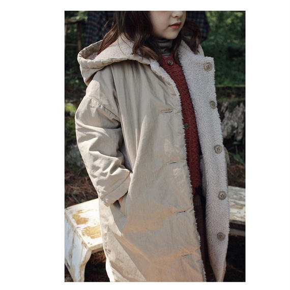 LAST1 / 50%OFF SALE / Landry reversible coat
