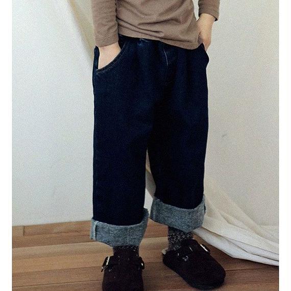 Port napping denim pants
