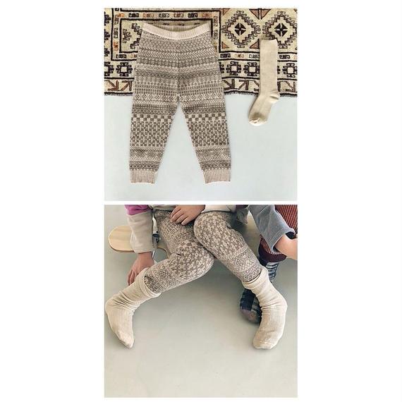 Jacquard Pants(男の子/女の子)