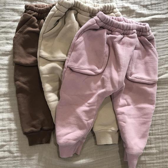 out pocket jogger pants