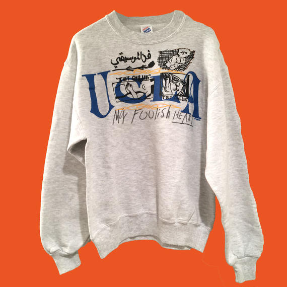 UCLA/MY FOOLISH HEART  sweat shirt