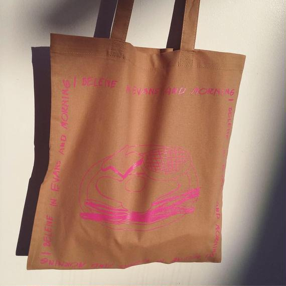 MORNING UKABU bag_BEIGE [limited for TAIPEI]