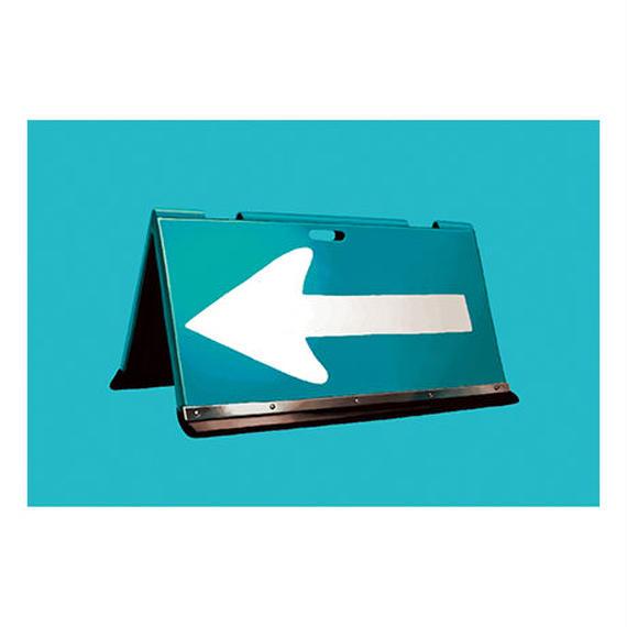 ポストカード 方向指示板