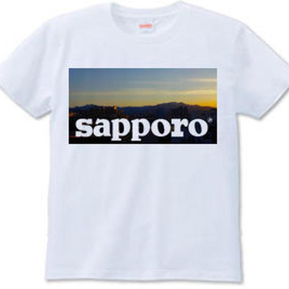 SAPPORO(Tシャツ white・ash)