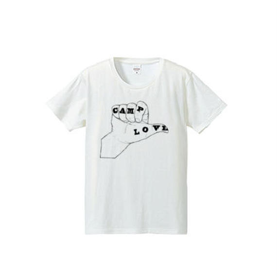 CAMP LOVE(4.7oz T-shirt)