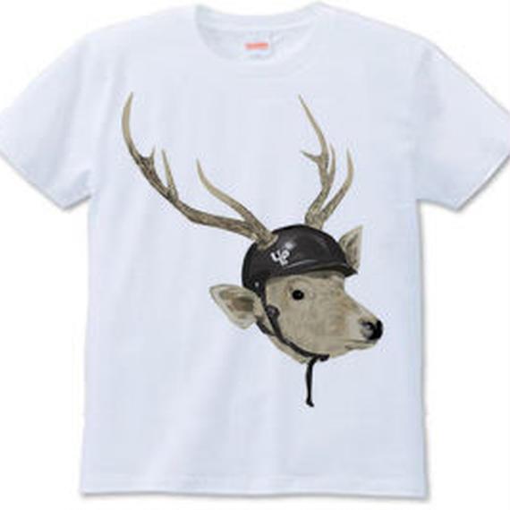 deer met(Tシャツ white ash)