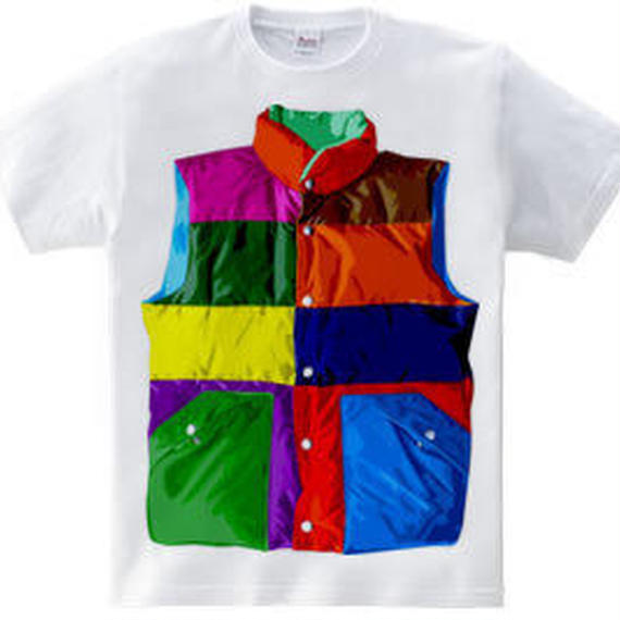 Color downvest(5.6oz)