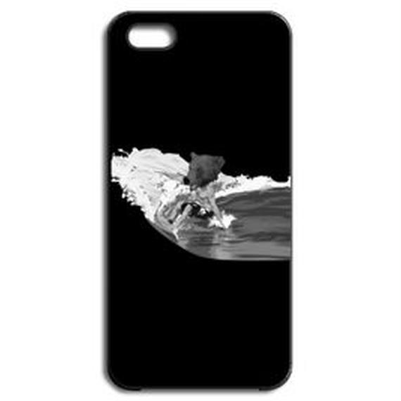 BEAR SURFING classic(iPhone5/5s black)