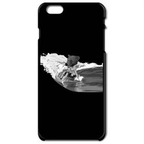 BEAR SURFING classic(iPhone6 black)