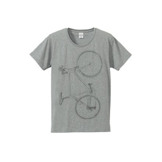 Colorless bike(4.7oz Tシャツ gray)