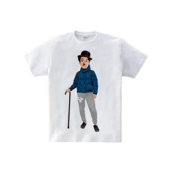 アウトドア・チャップリン (5.6oz Tシャツ)