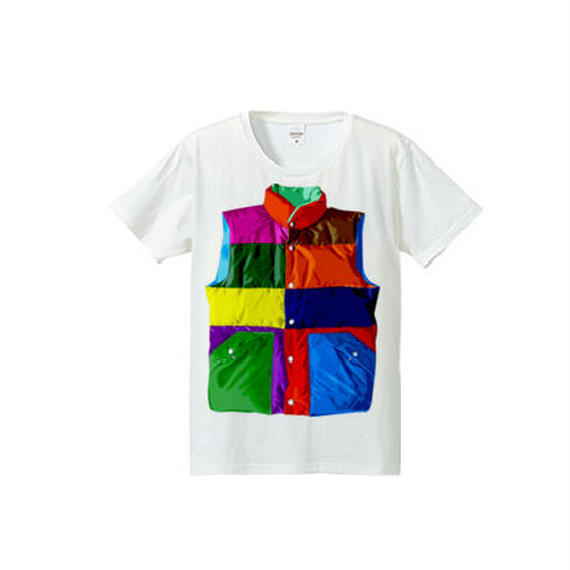 Color downvest(4.7oz T-shirt)