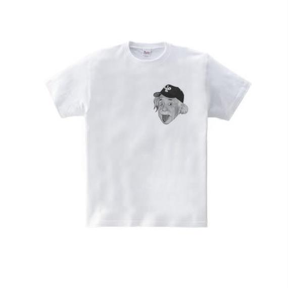 アルベルト・アインシュタイン・アウトドア one(5.6oz Tシャツ)