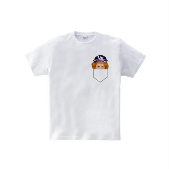 サッチャーポケット(5.6oz Tシャツ)