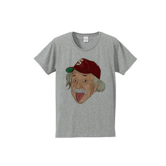 アルベルト・アインシュタイン・アウトドア(4.7oz T-shirt gray)