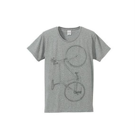 Colorless bike(4.7oz T-shirt gray)