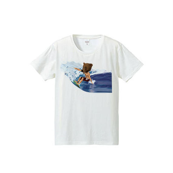 BEAR SURFING(4.7oz T-shirt)