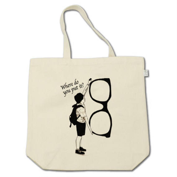 Where do you put it ?(tote bag)