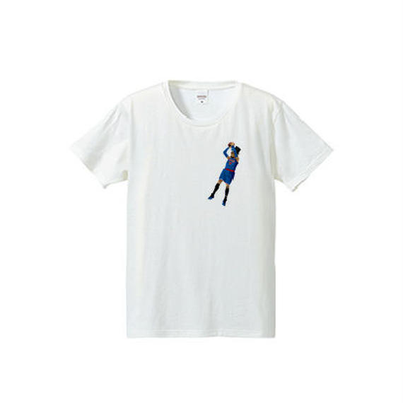 jump shot one point(4.7oz T-shirt)