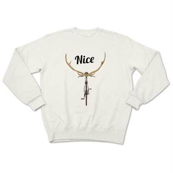NICE DEER(sweat white)