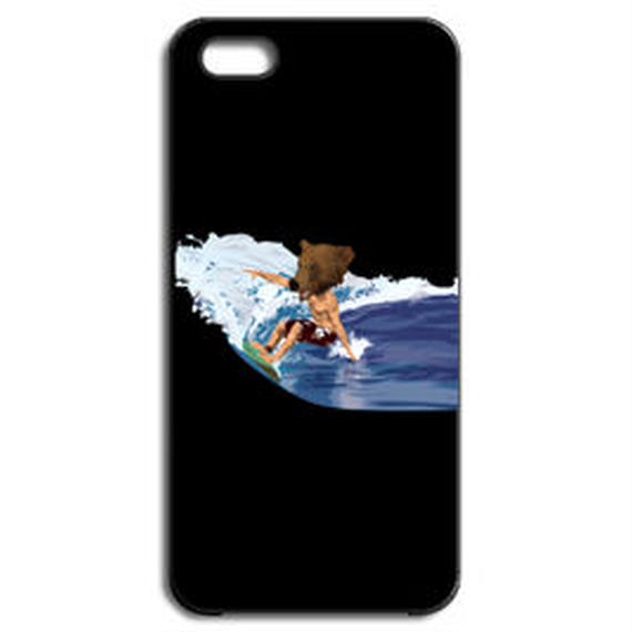 BEAR SURFING(iPhone5/5s black)