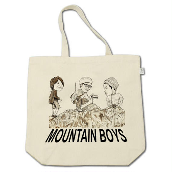 MOUNTAIN BOYS(tote bag)