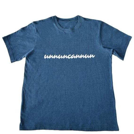 インディゴTシャツ(半袖)