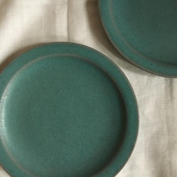 ブルーリム皿 径20㎝