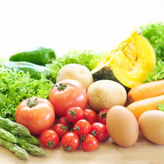 特選野菜&お米セット2人分(野菜約5-7品+お米2kg)/ 新潟県新潟市