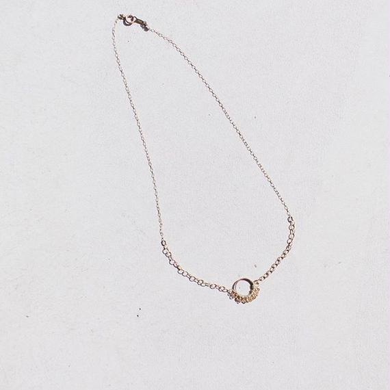 Half M Necklace _foam